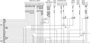 EZEFI Pinout WiringDiagram | EZ EFI 20 to run a RamJet