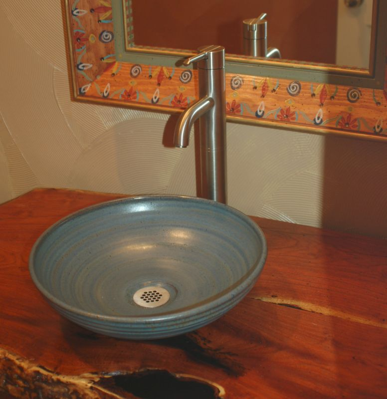 pottery sinks - hand made sink - artist made sink | pottery
