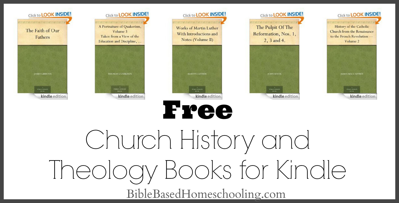 Free Church History And Theology Ebooks