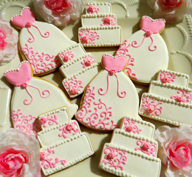 Bridal Shower Cookie Favors Fabulous Cookies Pinterest
