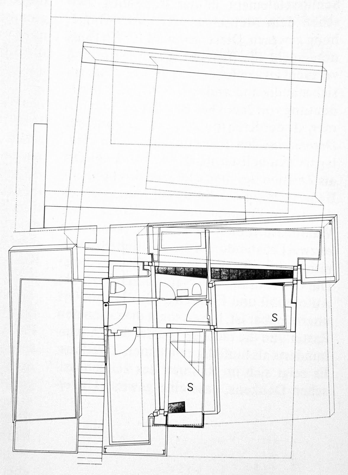 Architecture Drawing Eisenman
