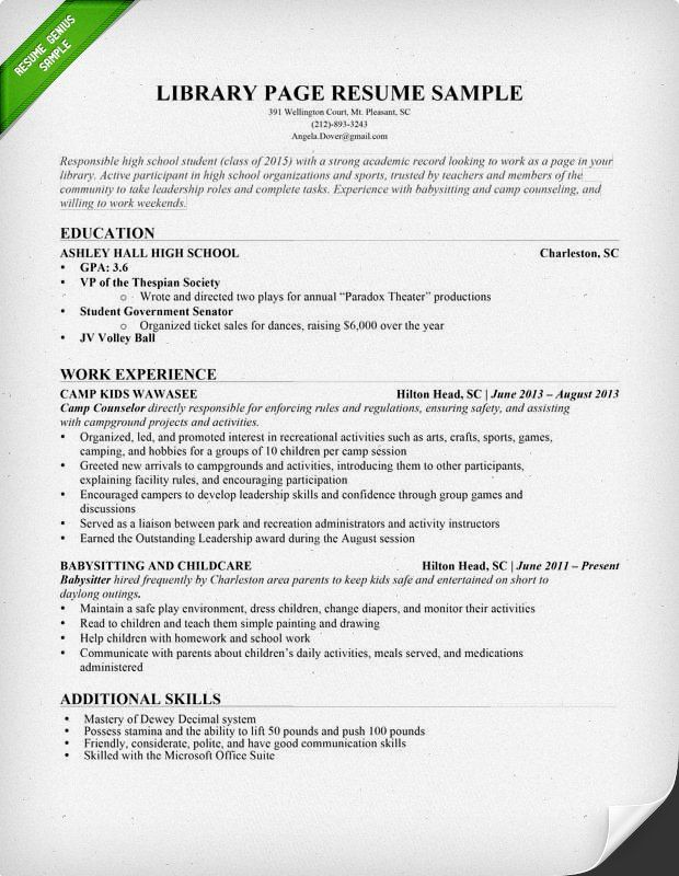 resume library page and sample resume on pinterest