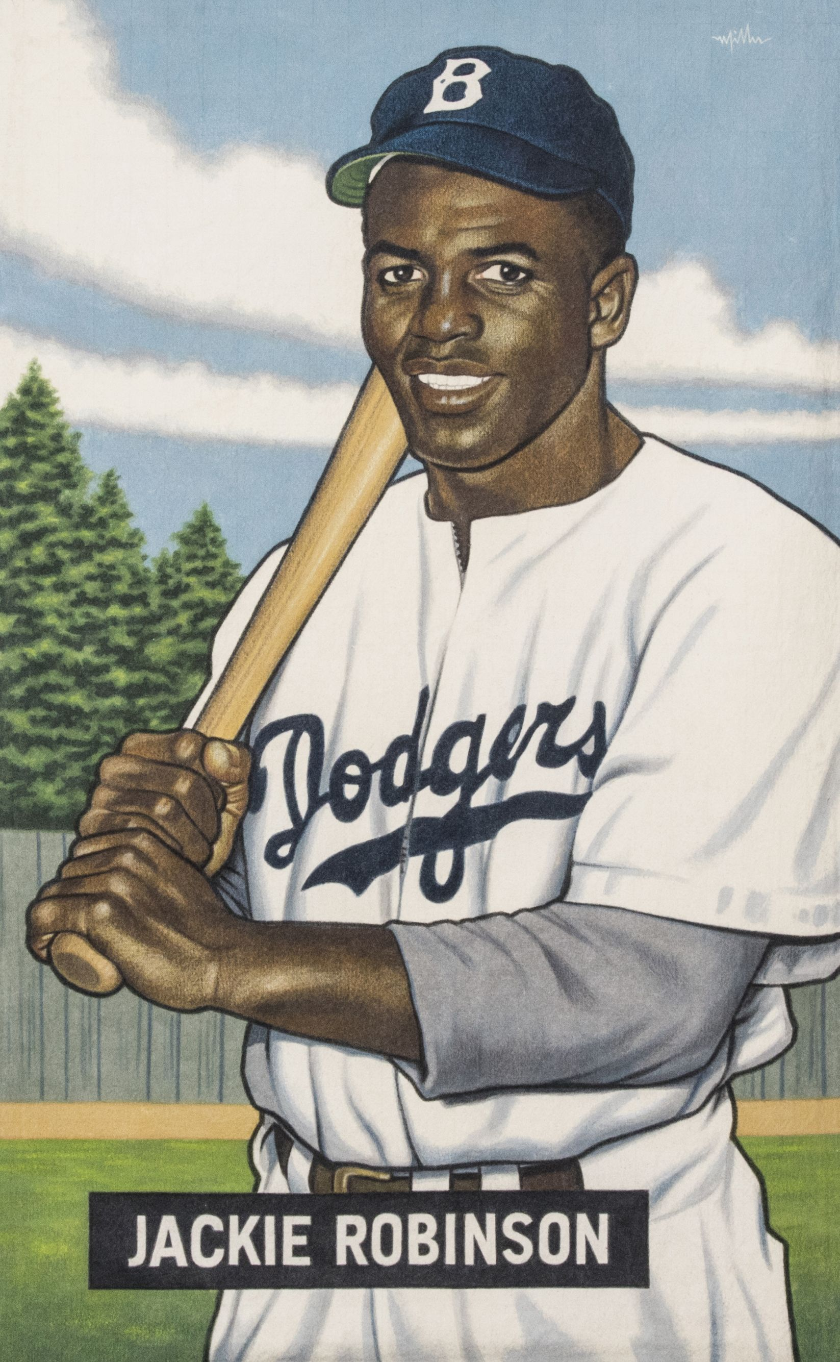 A Baseball Card That Never Was Jackie Robinson Dodgers Bowman By Arthur K Miller