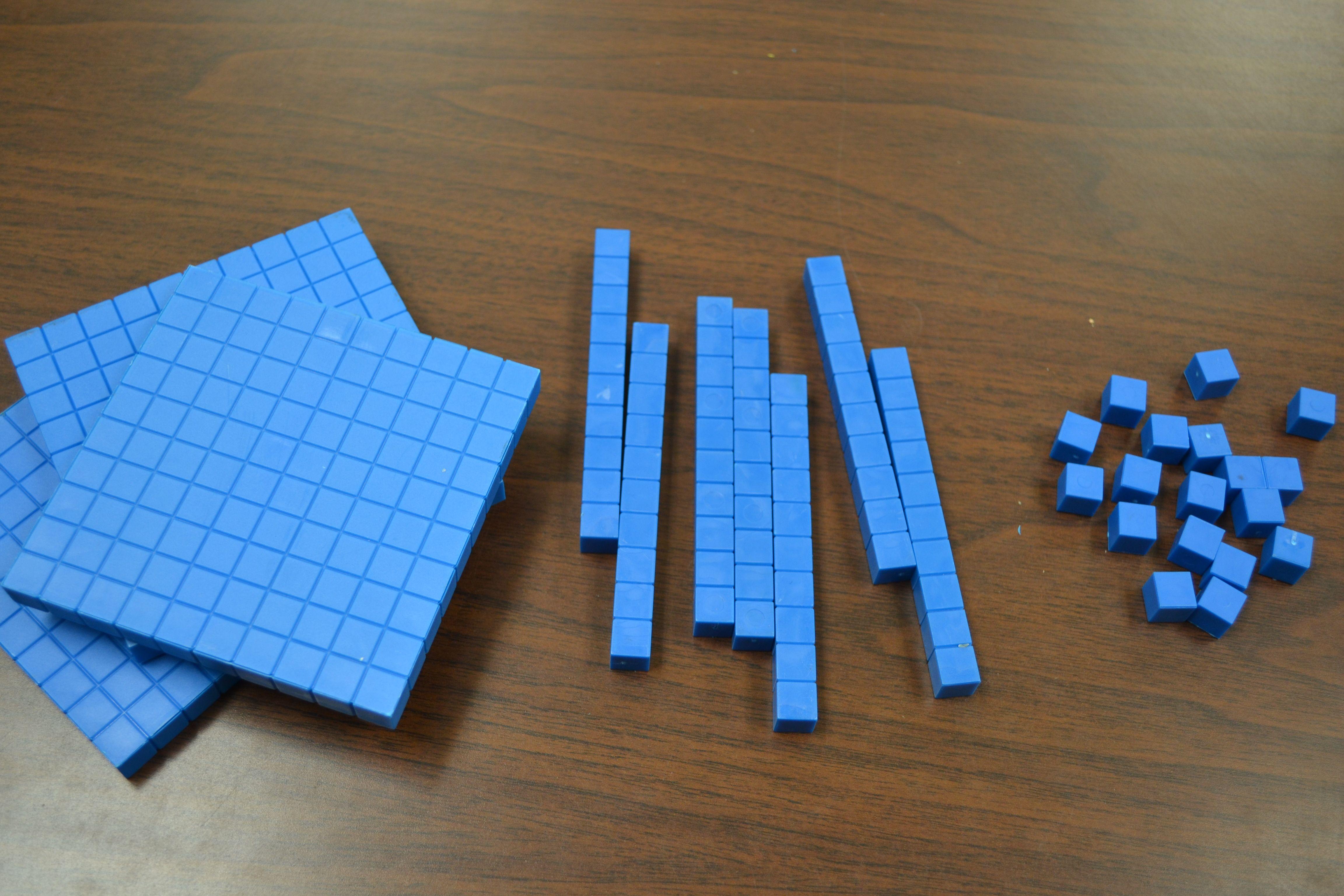 Base 10 Blocks Explain Decimals Omg I Remember Using