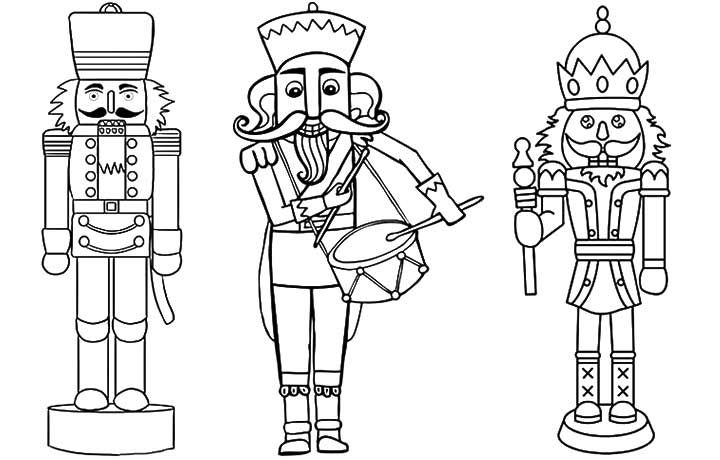 nutcrackers coloring pages and coloring on pinterest