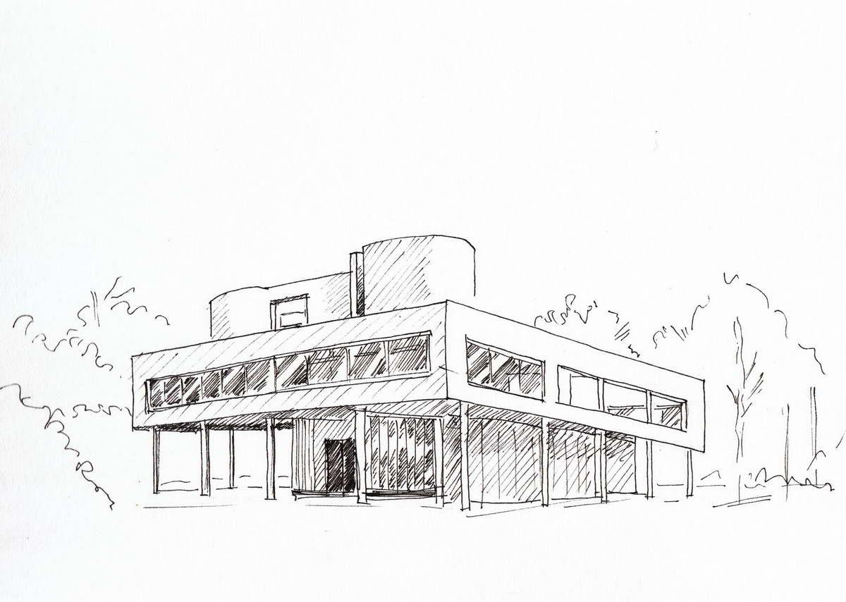 Illustration Croquis Architecture