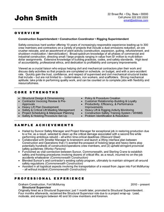 1000 images about best construction resume templates amp samples on