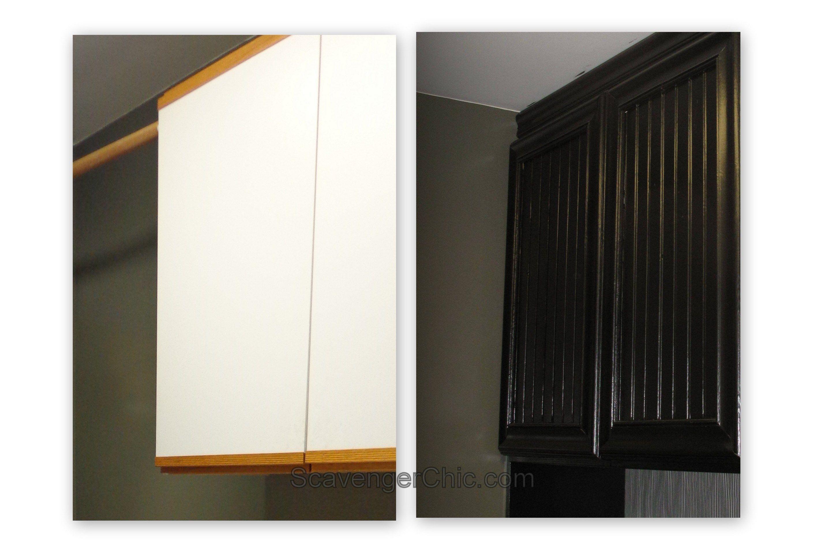 Oak And Laminate Cabinet Refacing