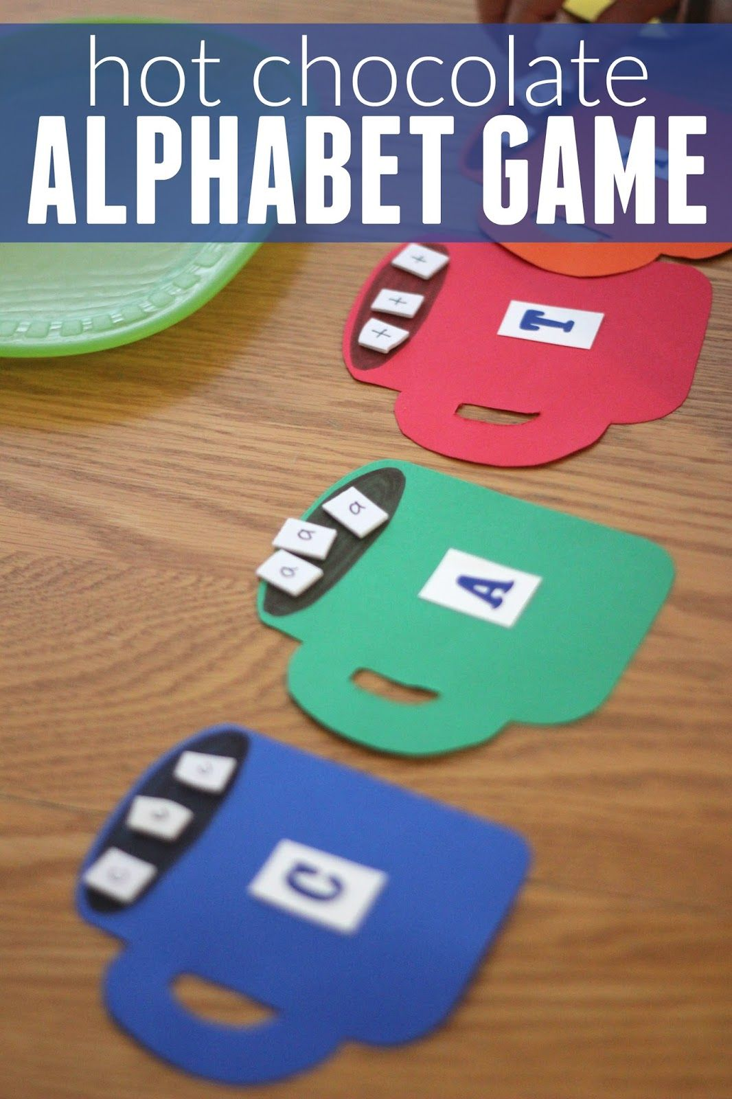 Hot Chocolate Alphabet Matching Game