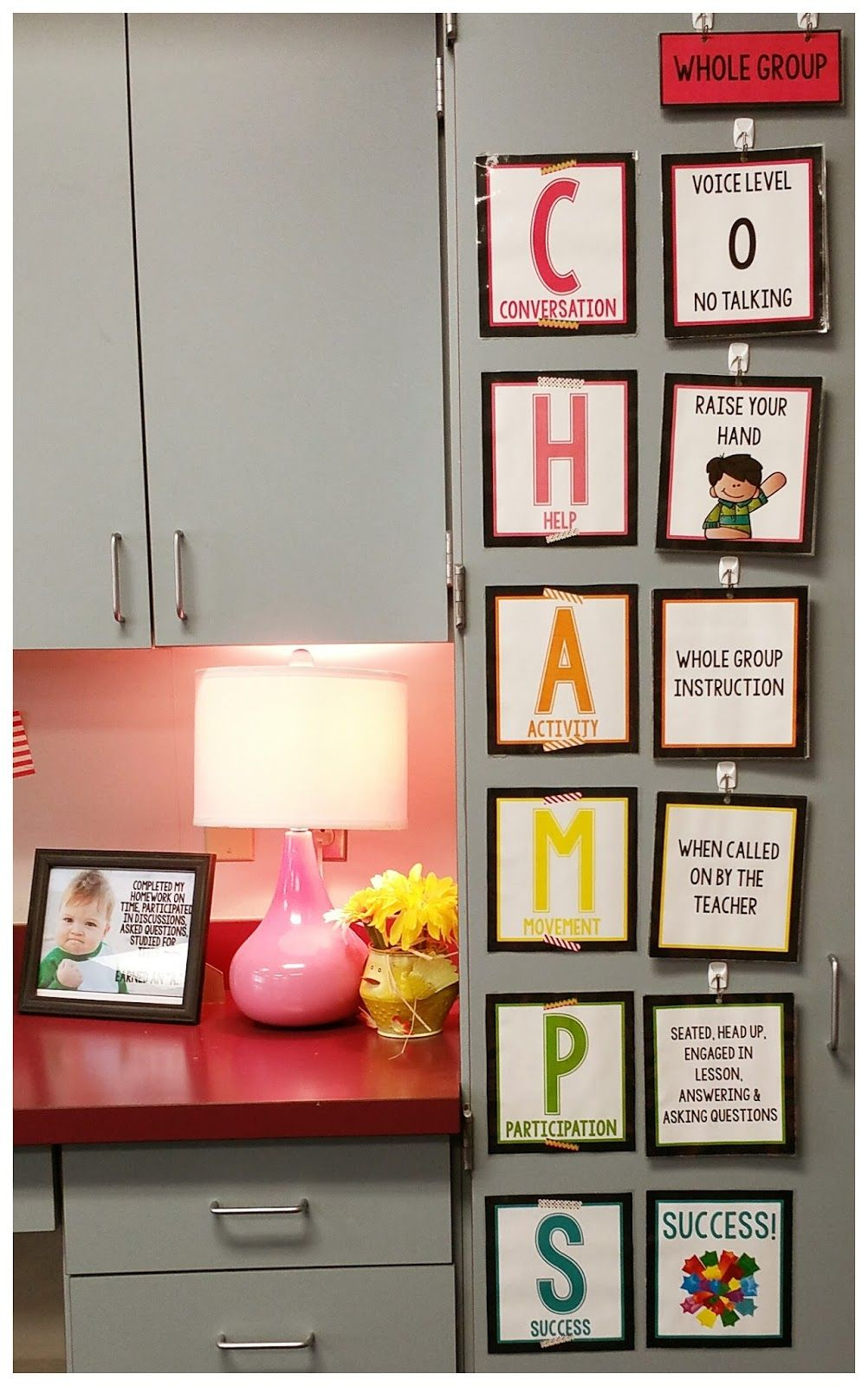 Teel's Treats LOVE this CHAMPS poster set found on TpT by