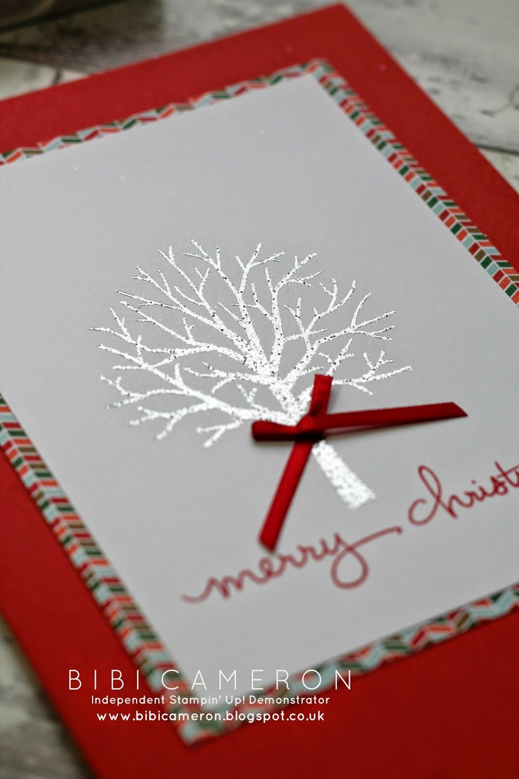 Sheltering Tree + Endless Wishes Stampin up ♥ Christmas