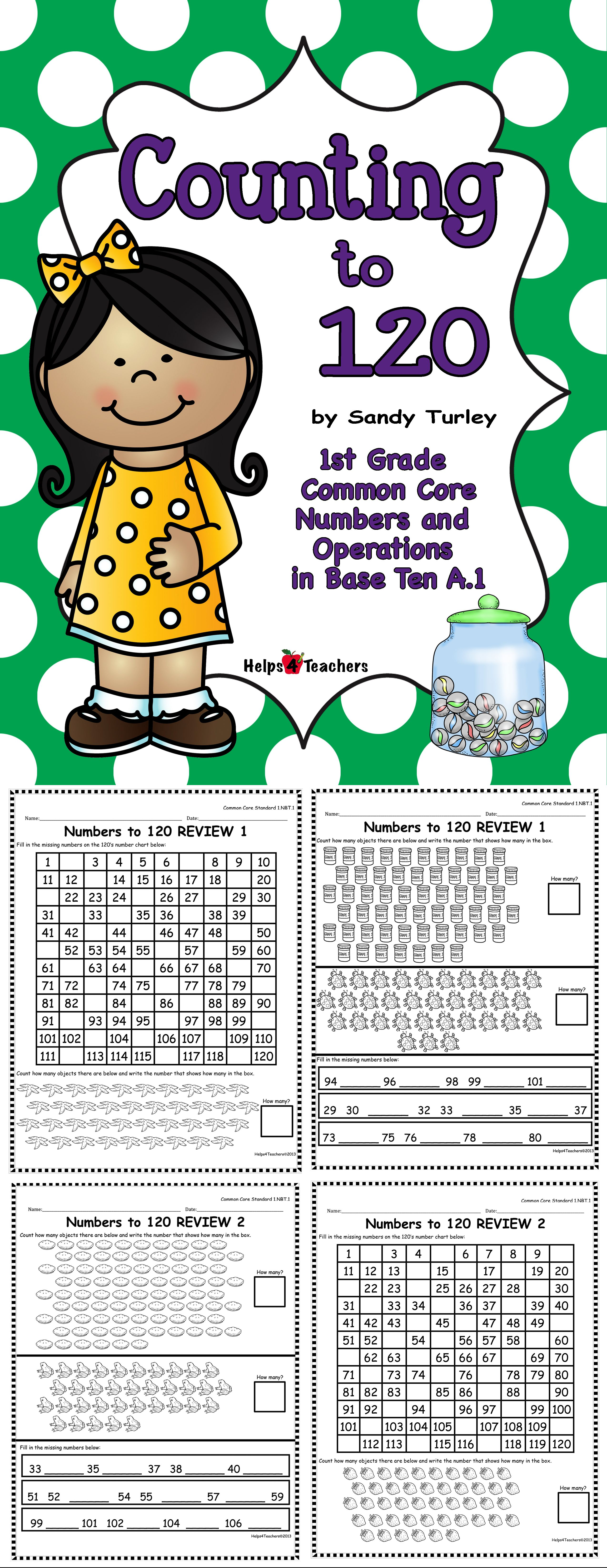 Counting To 120 Numbers And Operations In Base Ten