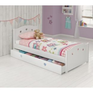 Molly White Single Bed With Finley Mattress At Argos Co Uk Your