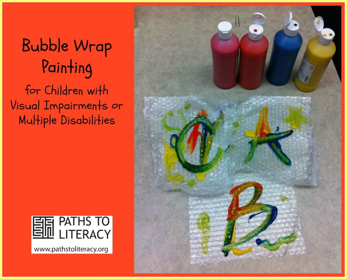 This Fun Activity Was Created By An Ot For Children With Visual Impairments Or Multiple