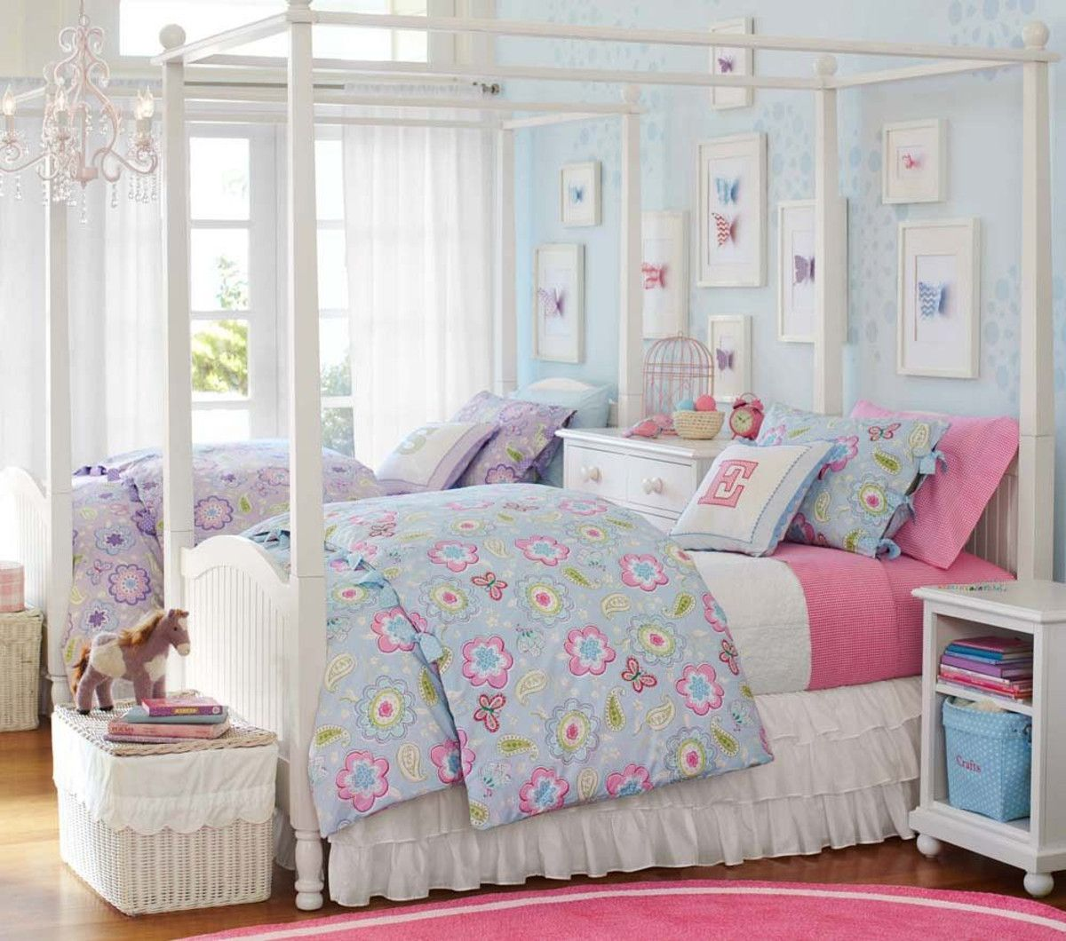 Catalina Canopy Bed Pottery Barn Kids Australia