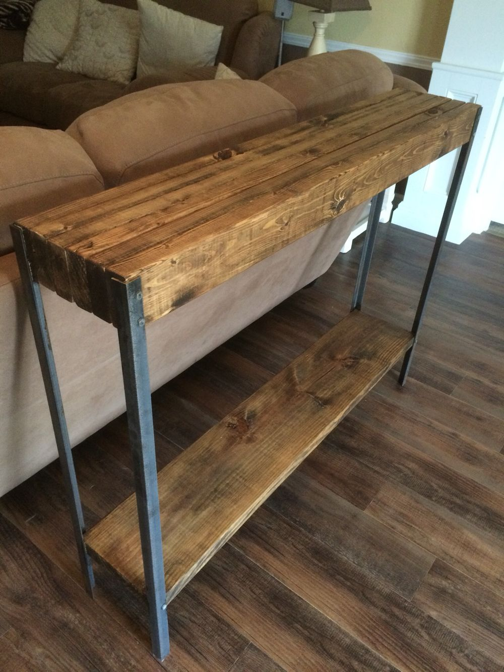 Image Result For Narrow Console Table Behind Couch