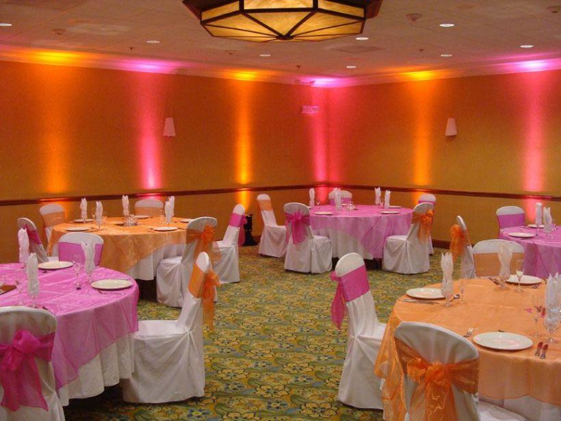 Wunderbar Orange Wedding Reception Ideas Zeitgenssisch