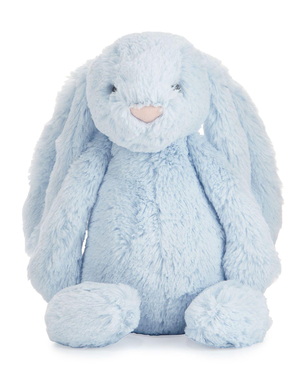 Plush Bashful Bunny Chime Stuffed Animal, Blue Jellycat