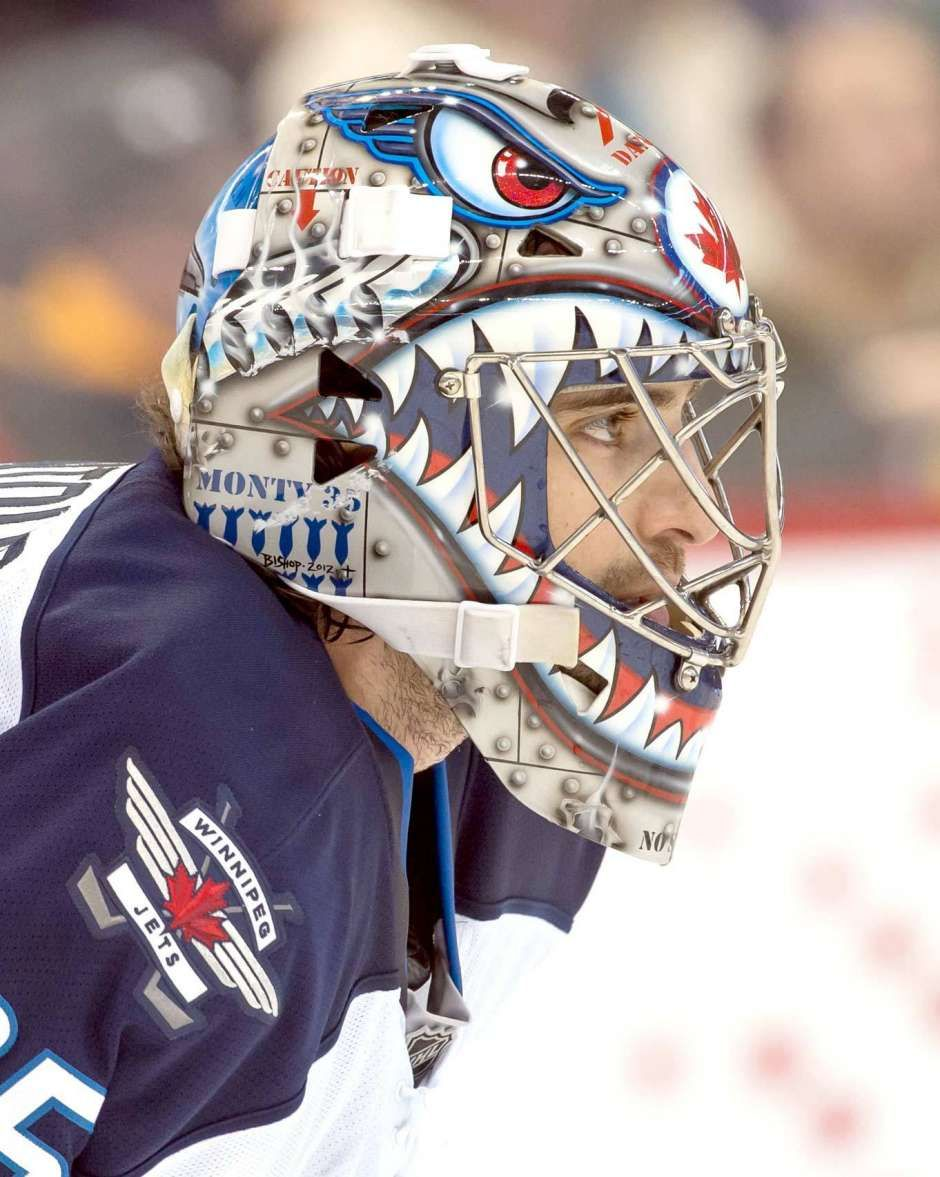Best goalie masks of 2013 NHL season Seasons, Jets and Masks