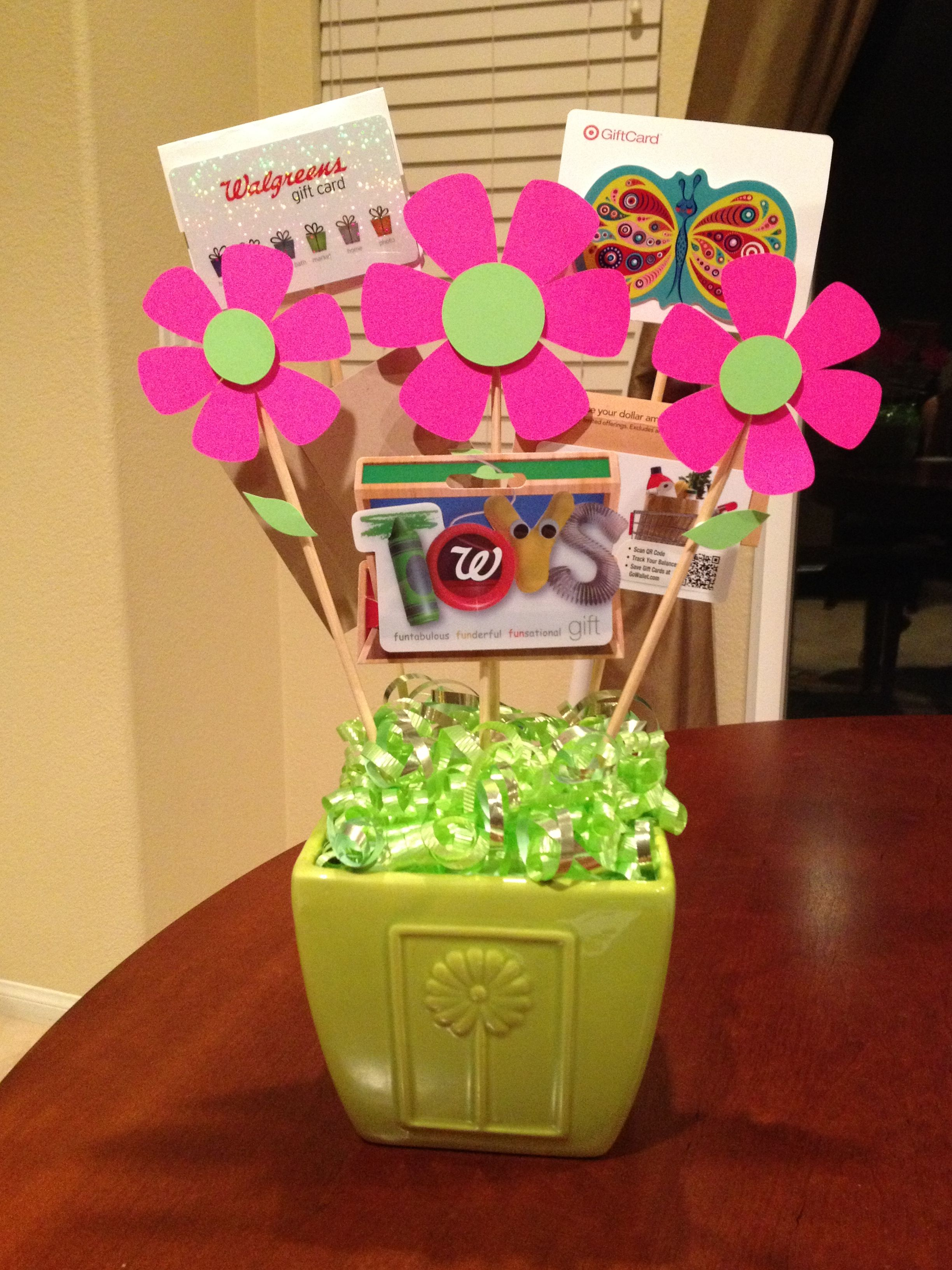 Gift Card Trees And Gift Card Wreaths On Pinterest Gift