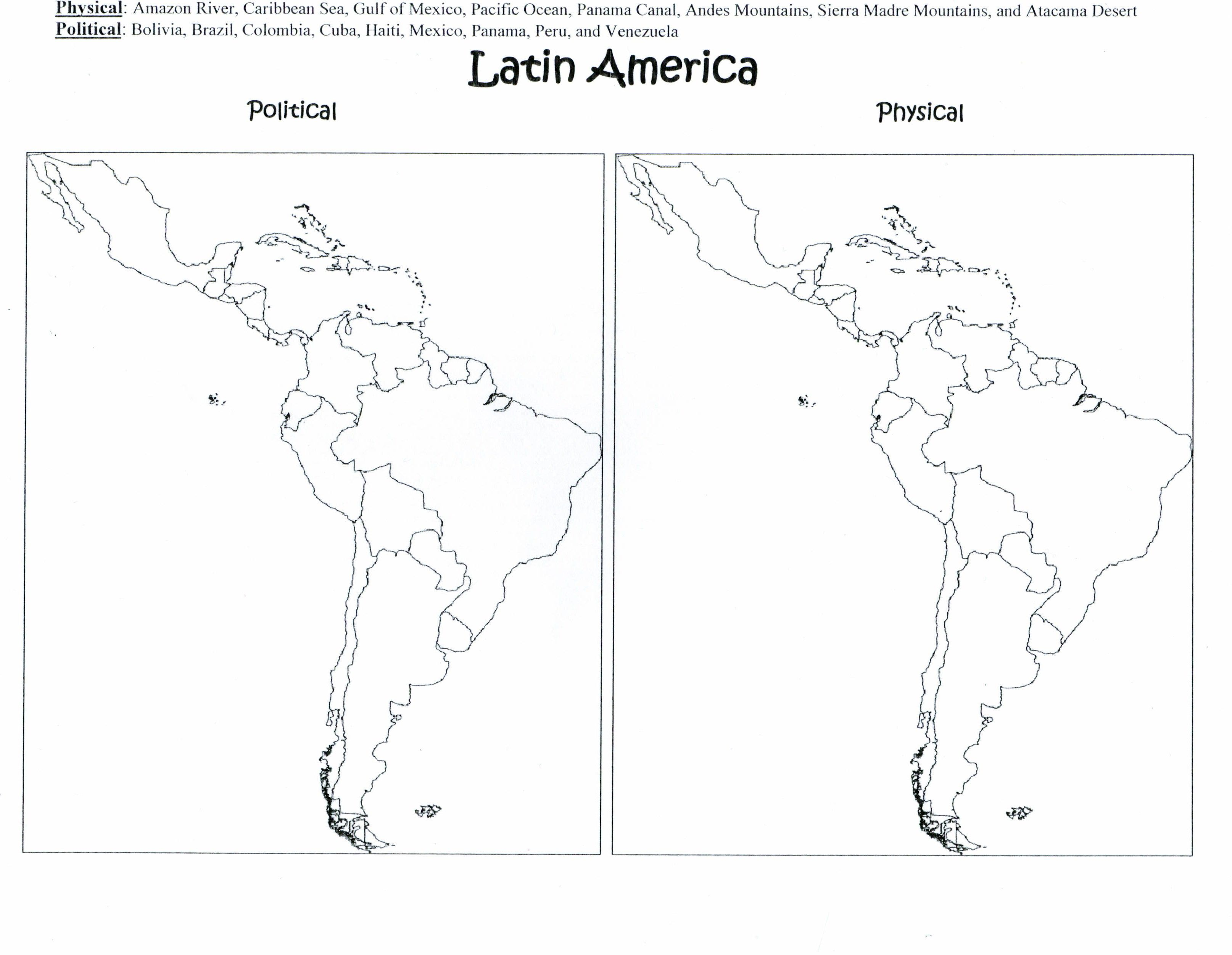 27 Physical Geography Of Latin America Worksheet Answers