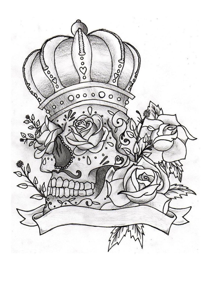 sugar skull tattoo  ink  pinterest  sugar skull tattoos