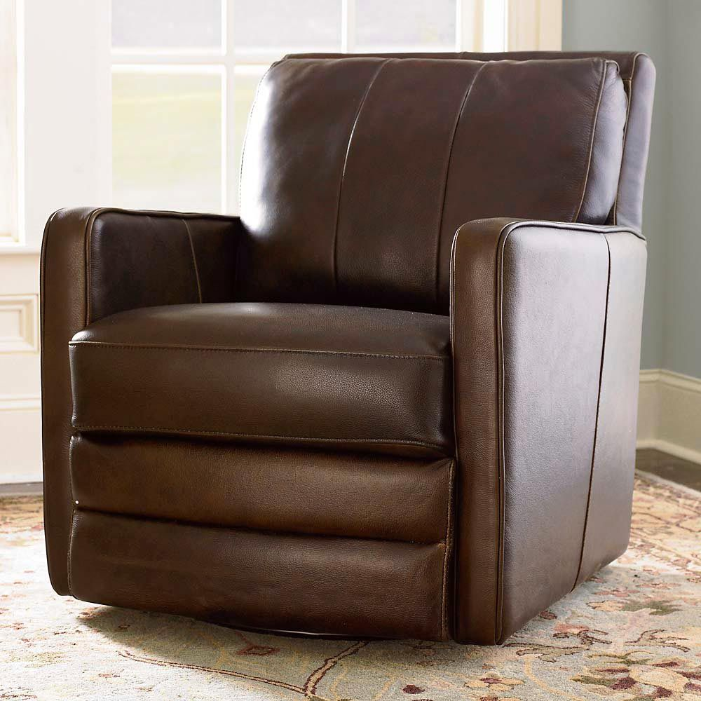 Leather Swivel Chair, Custom Leather Home Office Desk