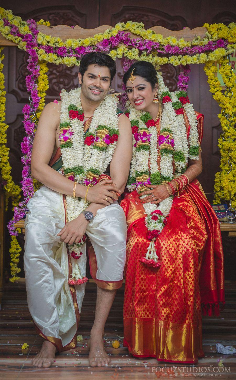 Ganesh Venkatram and Nisha Krishnan Wedding Wed