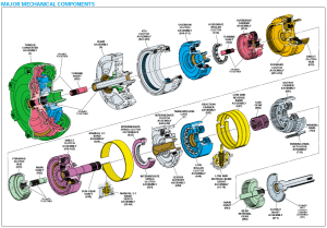 4L80E Parts BlowUp  Diagram | keith kraft | Pinterest