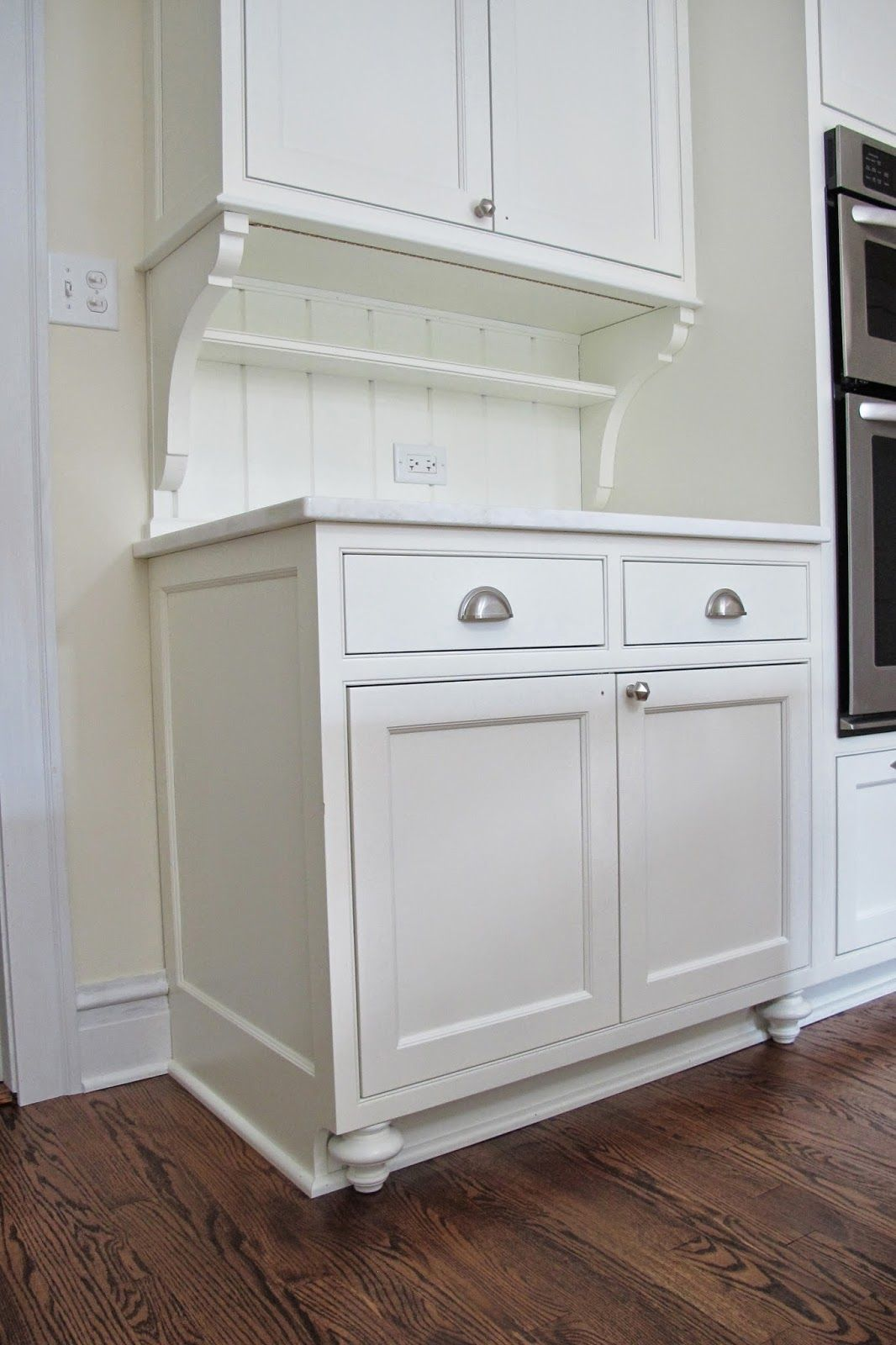 Best Kitchen Gallery: How To Add Feet To Bottoms Of Kitchen Cabi S It Started With of Kitchen Cabinet Feet on cal-ite.com