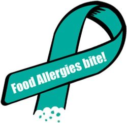 Food Allergy Ribbon