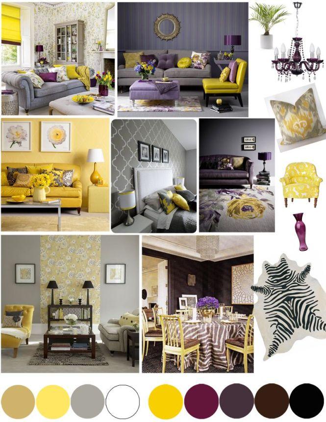 Purple And Yellow Bedroom – Purple and Yellow Bedroom