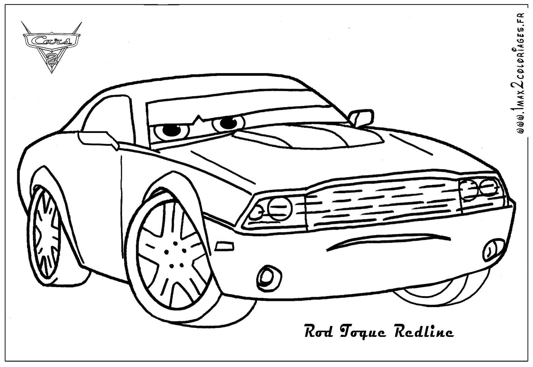 Cars 2 Printable Coloring Pages Pictures Coloring Page