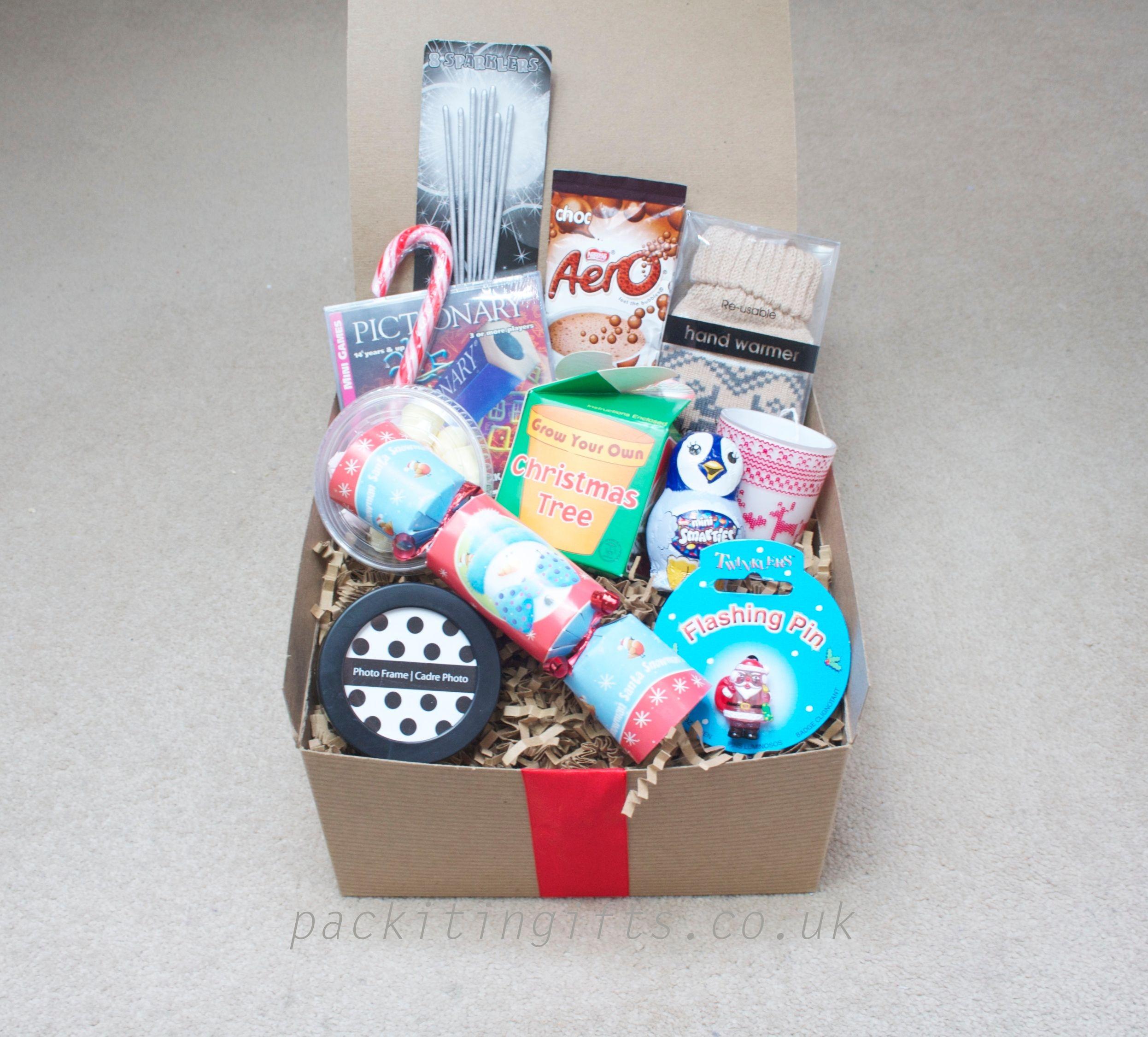 Teen Christmas Christmas gift box, perfect for your