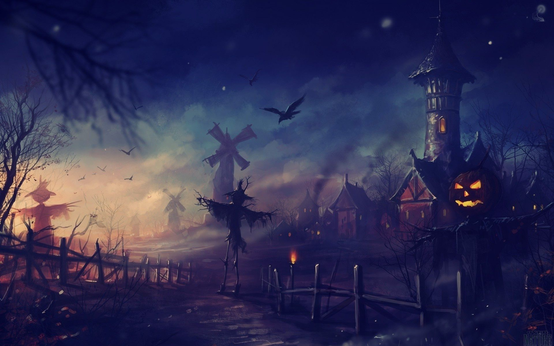 Halloween Landscape Wallpapers Halloween Costumes