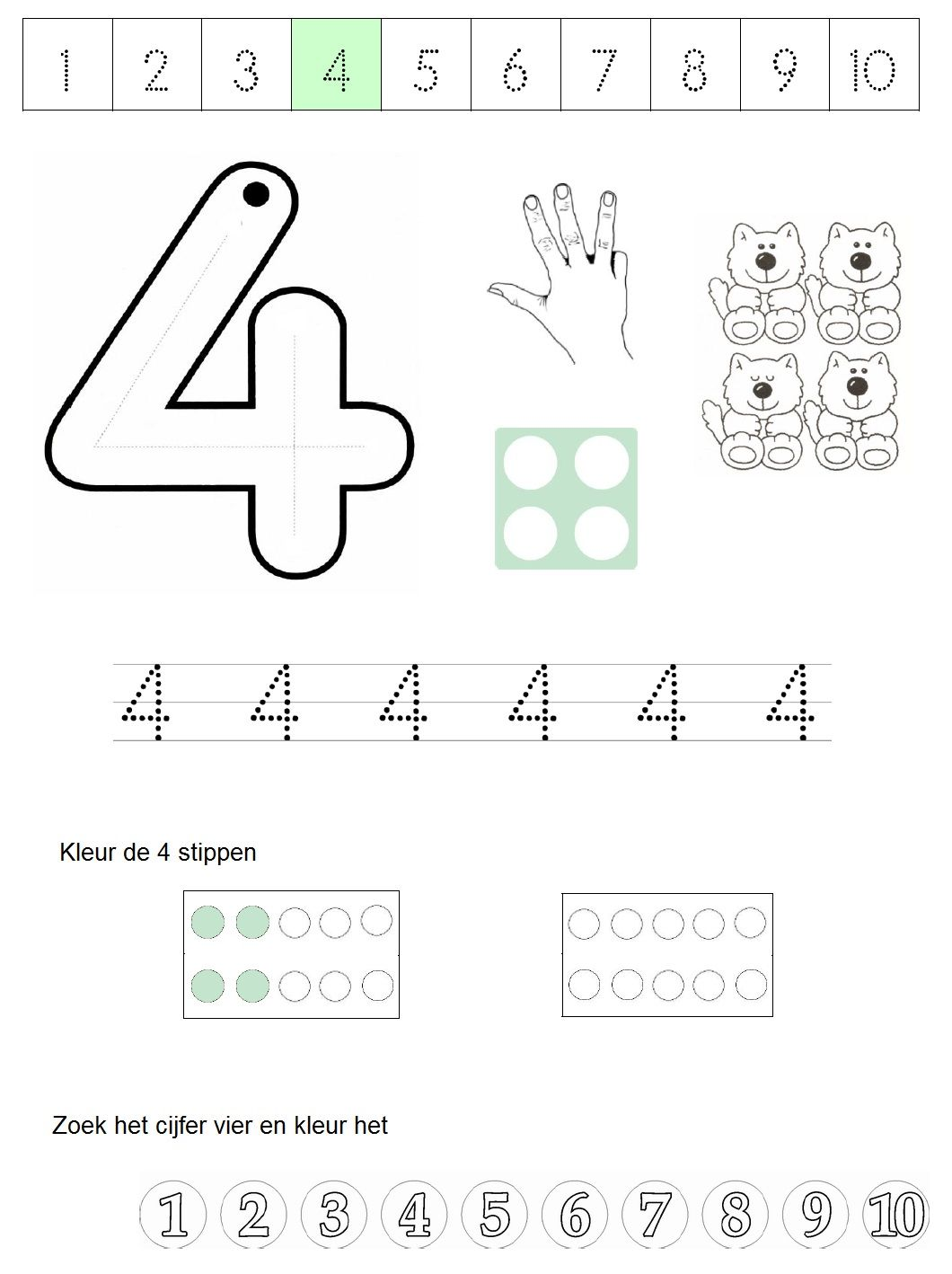 Numicon Addition Worksheets To 20