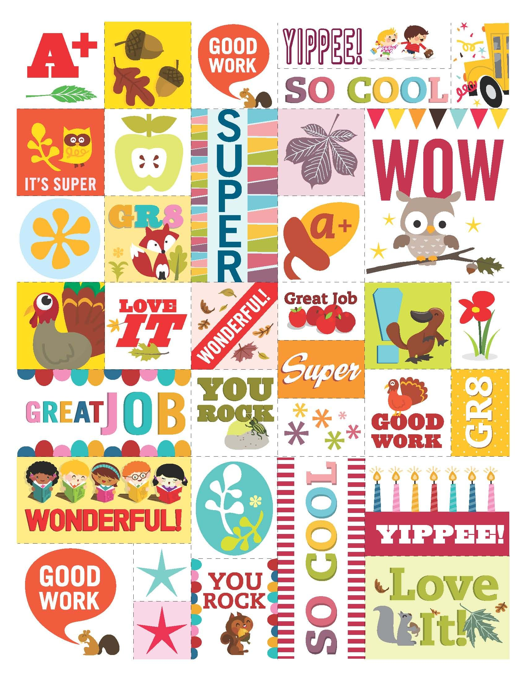 Feel Good Stickers For Students Feel Free To Print Em