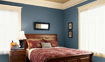 Dining Room Color Valspar Mercer Blue Eb32 2 My