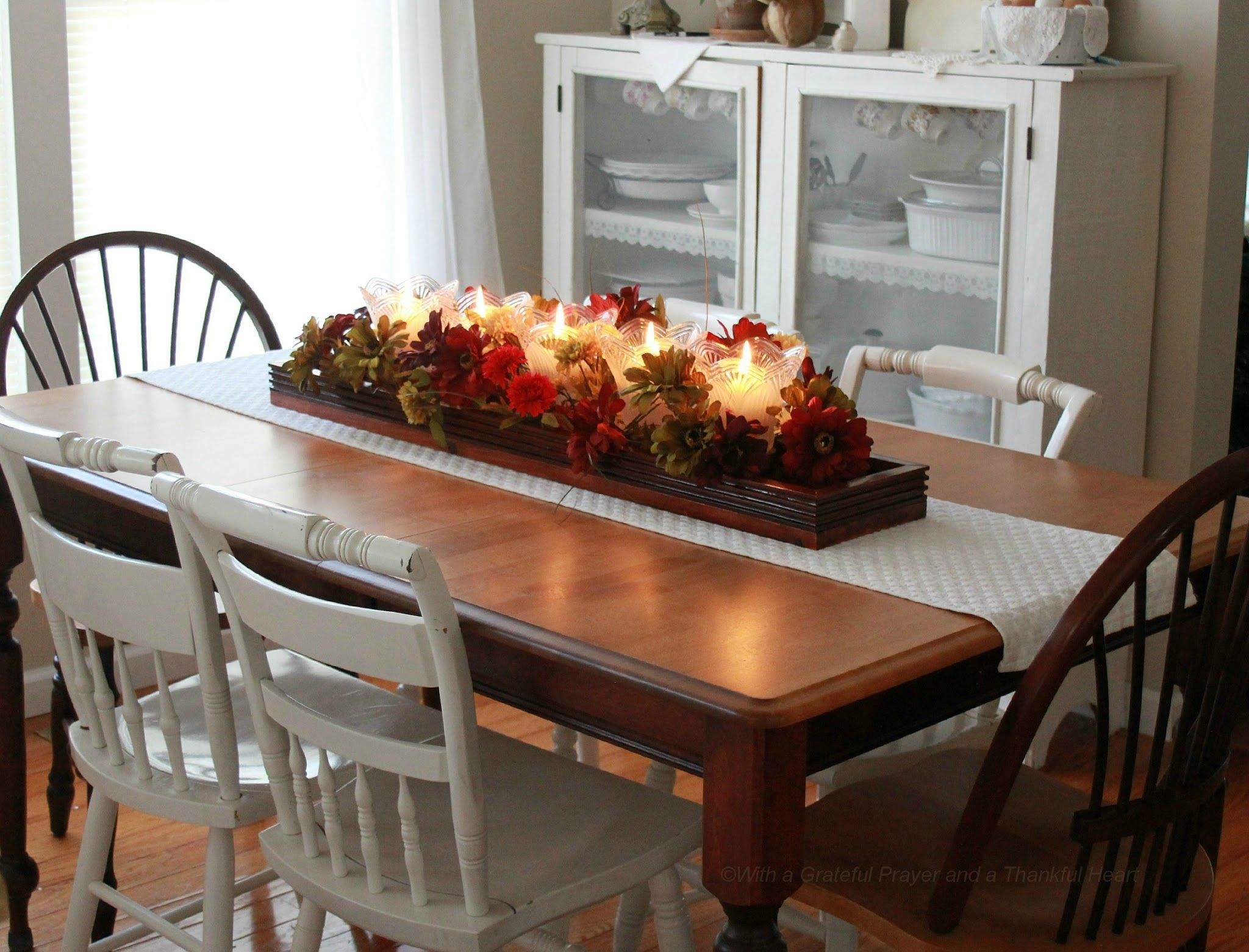 Fall/Winter Table Centrepieces Pinterest Fall winter