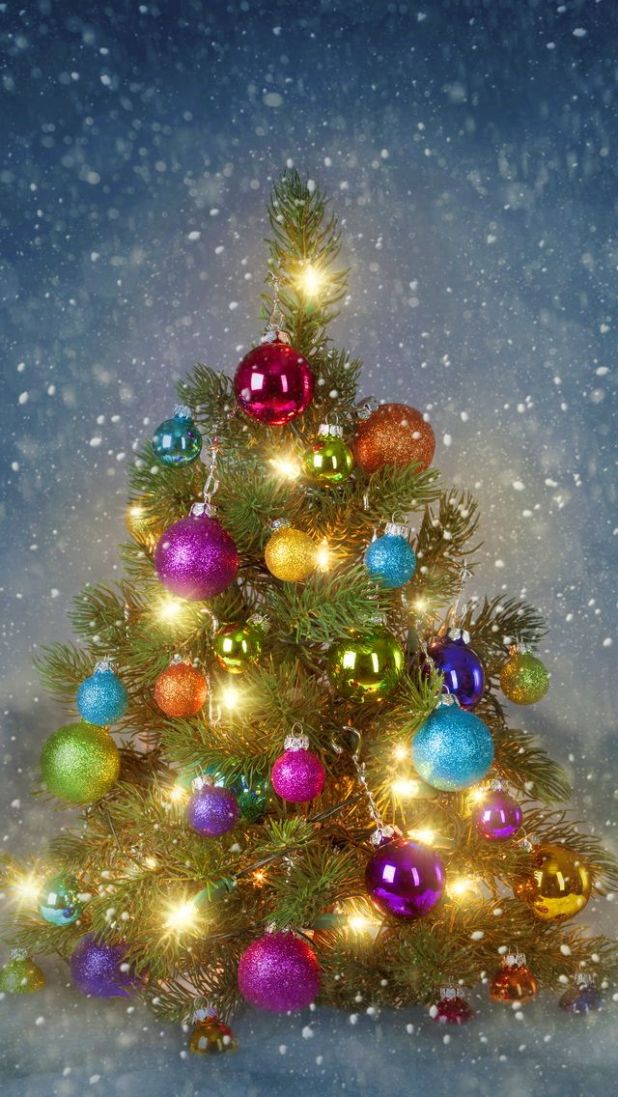 christmas tree iphone wallpapers mobile9