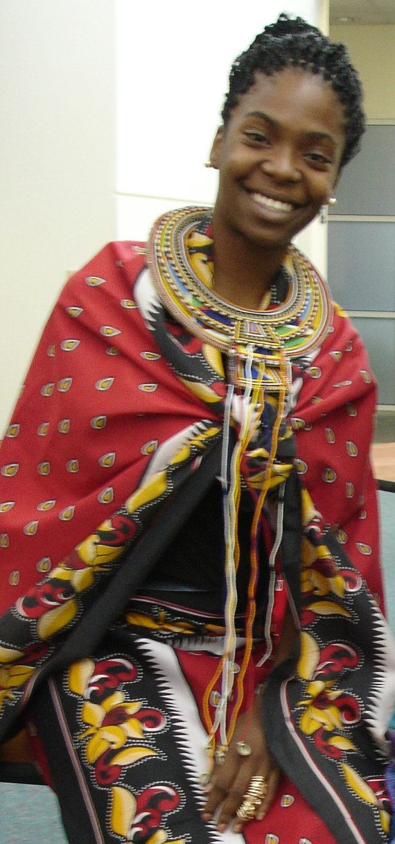 Halloween Or Costume Party Be A African Warrior by