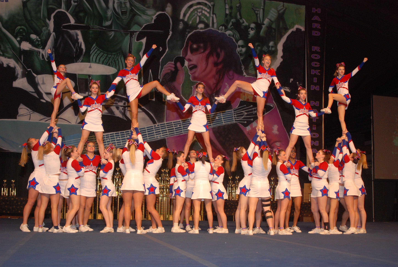 cheerleading stunts Cheerleading Stunts take more than