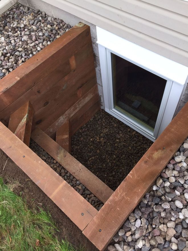 Egress window timber well 7632673891 affordable egress