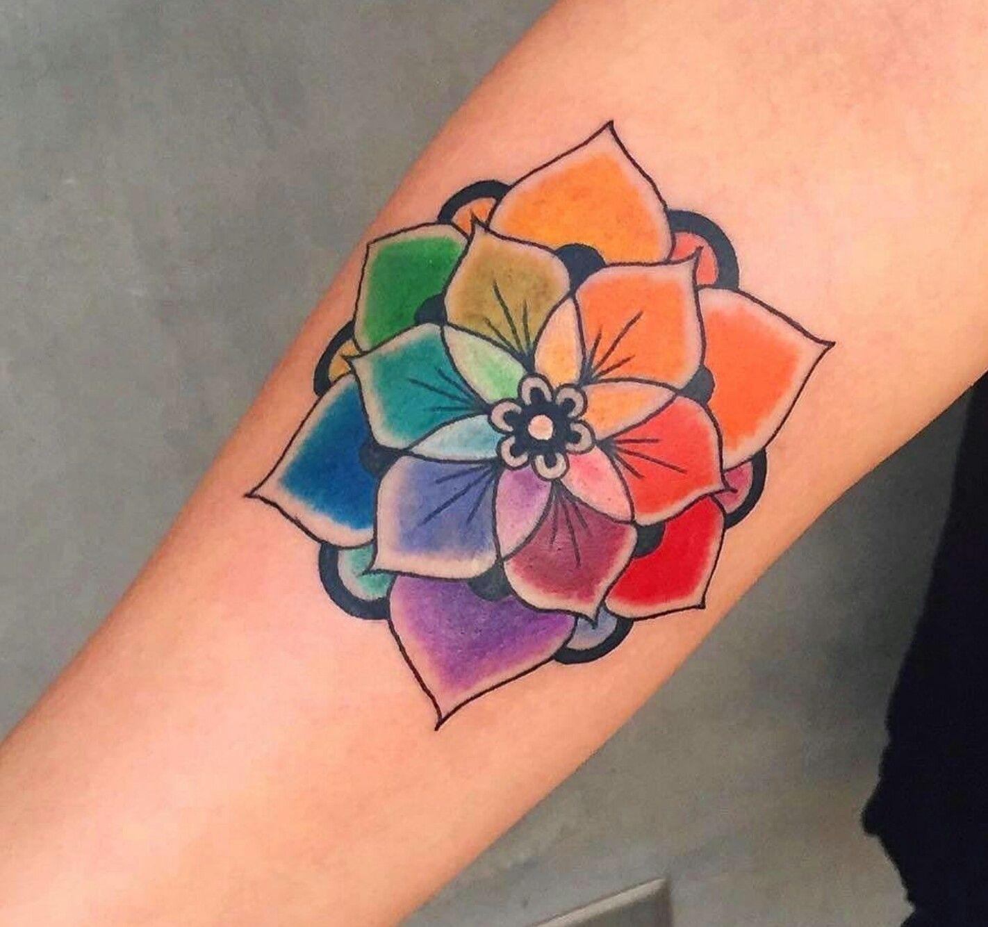 HairColor wheel tattoo tattoos Pinterest Hair color