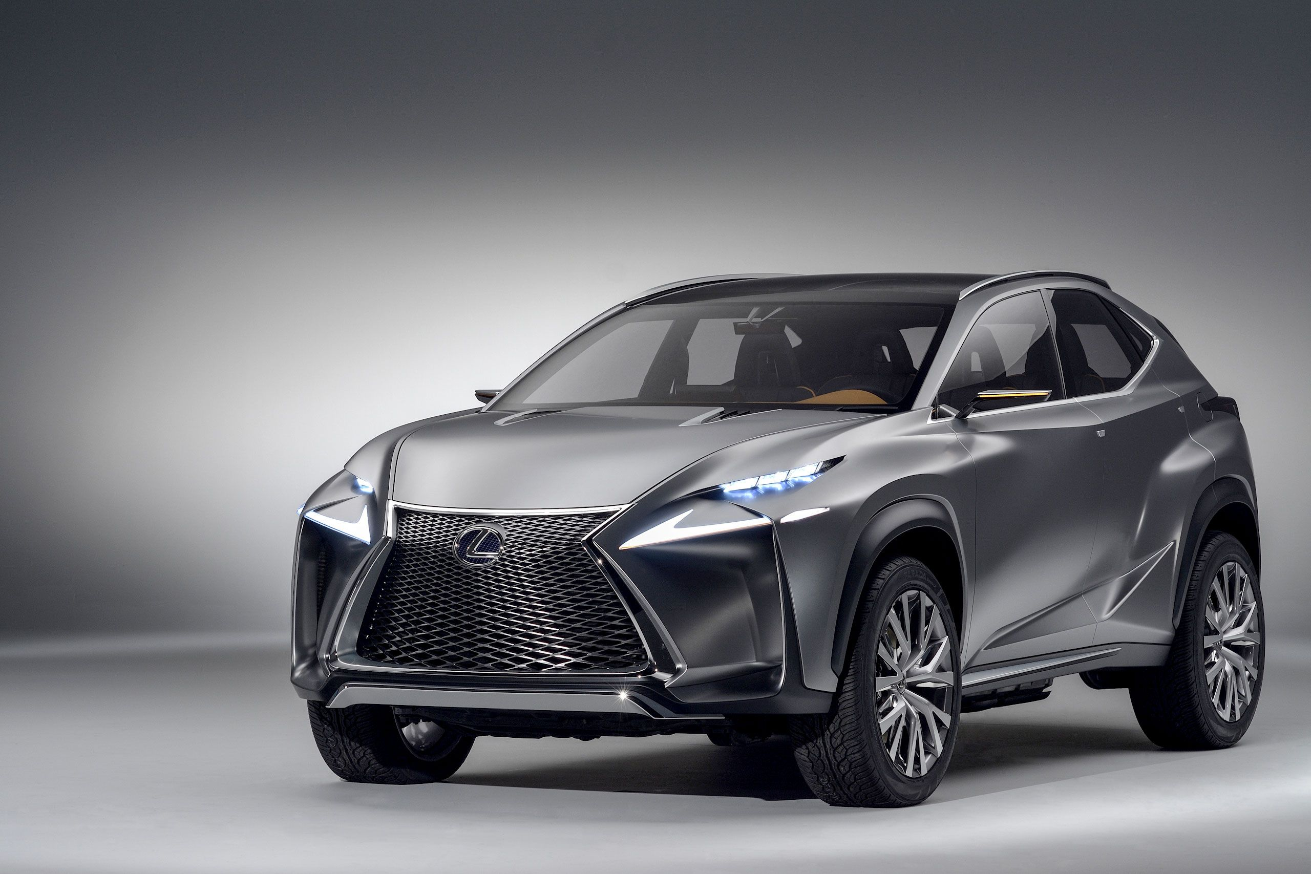 Lexus LF NX pact Crossover Concept hd wallpaper