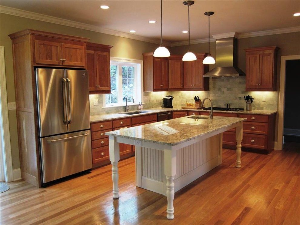 Killer White Oak home remodel Bridgeport Kitchen bead