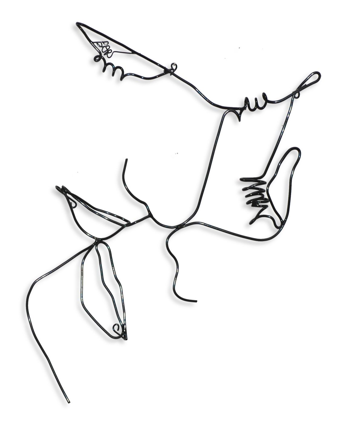 Wire Wall Art Of Lovers