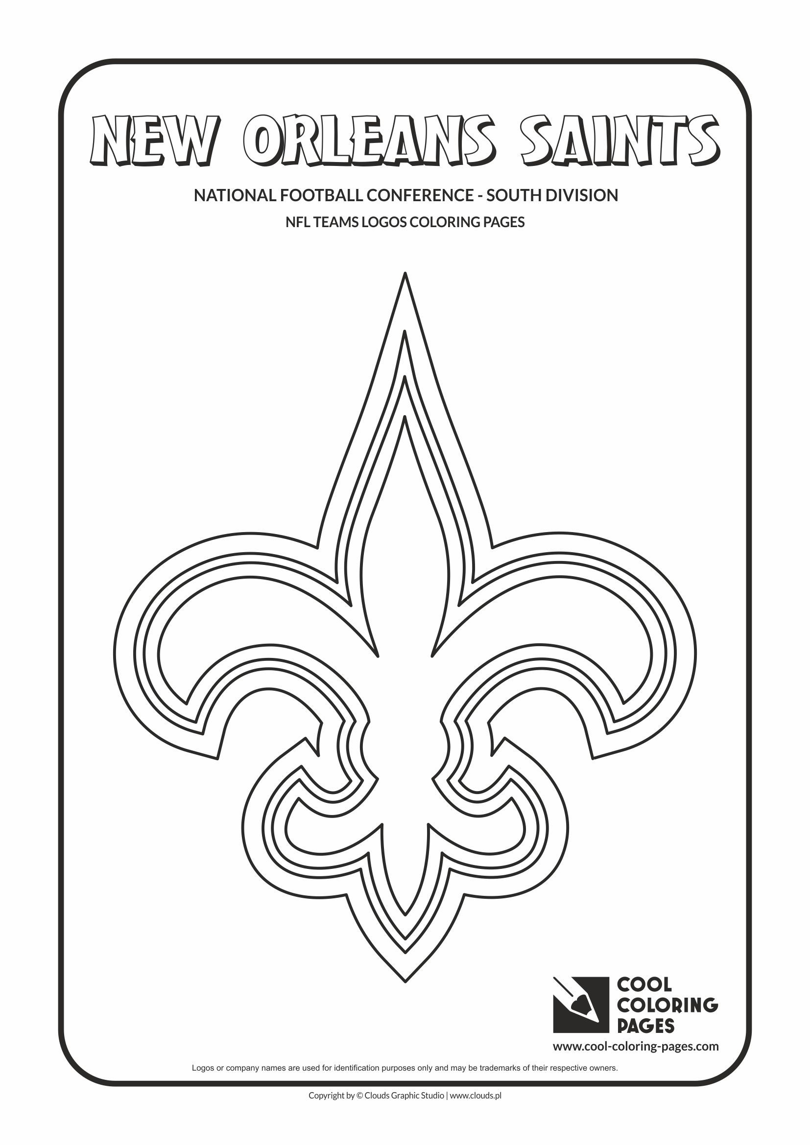 Nfl Team Logo Coloring Pages