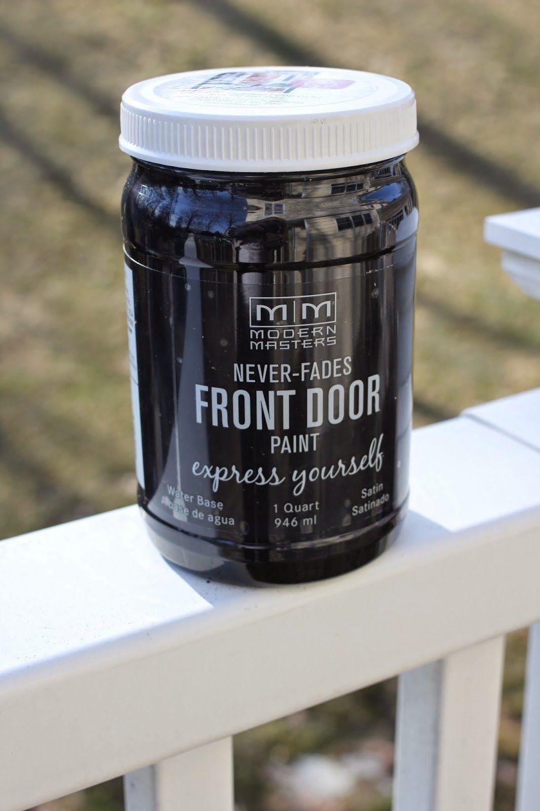 New Front Door Paint Front Doors