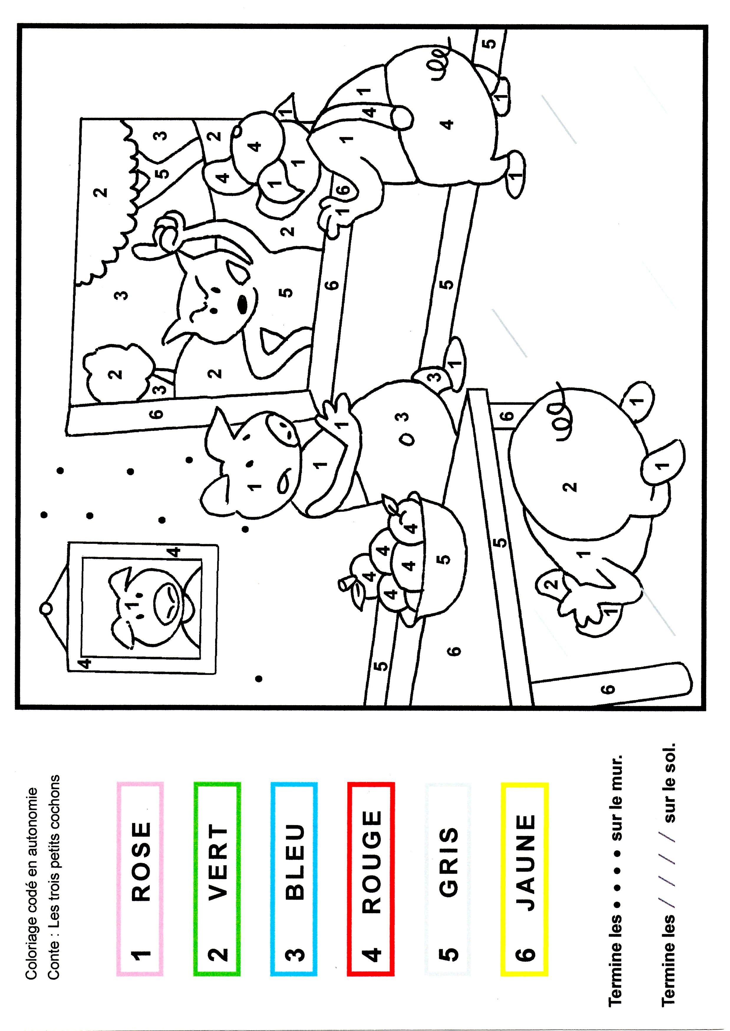 Les 3 Petits Cochons Maternelle